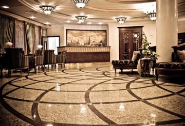 интерьер отеля